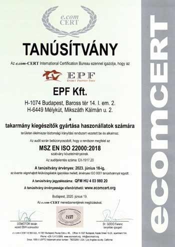 EPF KFt